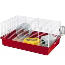 FERPLAST Criceti 9 Weißer Käfig für Hamster