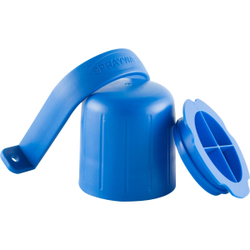 ABENA® SprayWash Tablet Kit Behälter, Farbbehälter für SprayWash Tabs, Farbe: blau