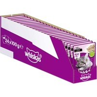 whiskas 1+ Lachs in Sauce 24 x 100 g