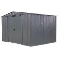 SPACEMAKER Metallgerätehaus 10x8 3,07 x 2,36 m grau