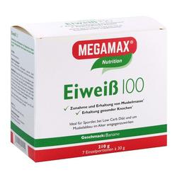 EIWEISS 100 Banane Megamax Pulver 7X30 g
