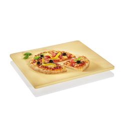 KÜCHENPROFI Pizzastein 40 x 35,5 cm mit Fuß