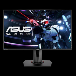 Asus Monitor VG279Q 69 cm (27 Zoll), 3 ms, 100 Mio. : 1