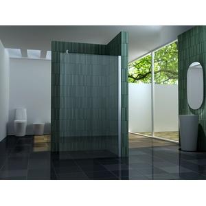 10 mm Duschtrennwand FREE 110 x 200 cm