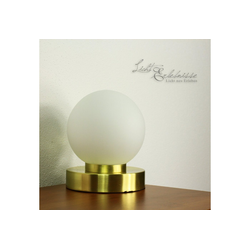 Licht-Erlebnisse Tischleuchte PRINZ Moderne Tischleuchte Schlafzimmer Wohnzimmer Tischlampe Lampe