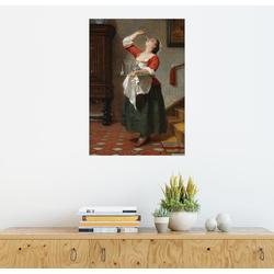 Posterlounge Wandbild, Das Naschkätzchen 70 cm x 90 cm
