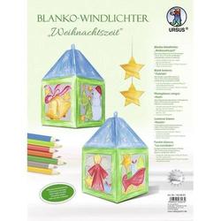Blanko-Windlichter Weihnachtszeit VE=2 Stück