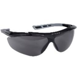 Thor Reflector Schutzbrille, Augenschutzbrille im modernen Design, 1 Packung = 12 Stück, dunkel