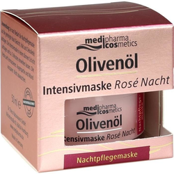 Olivenöl Intensivmaske Rose Nacht