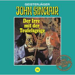 John Sinclair - Der Irre mit der Teufelsgeige Folge 76 als Hörbuch CD von Jason Dark