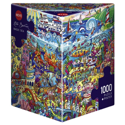 HEYE Puzzle HEYE 29839 Rita Berman Magic Sea 1000 Teile Puzzle, 1000 Puzzleteile braun