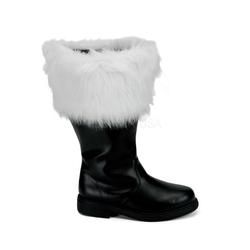 Santa Boots SANTA-106WC (Weitschaft) - Schwarz