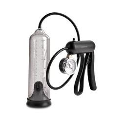 "Penispumpe ""Pro-Gauge Power Pump"", mit Druckmesser"
