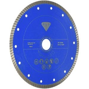 Scheppach 7906700703 Zubehör/Diamanttrennscheibe Professional, passend für den FS3600 Fliesenschneider, schneidet Fliesen, Marmor, Schiefer, Durchmesser 200 x 25,4 mm