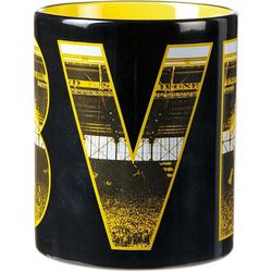 Borussia Dortmund Tasse BVB-Tasse Fahnenmeer
