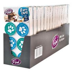 Finé Katzenfutter Milk Caps 120 g, 15er Pack