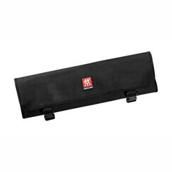 ZWILLING Messertasche Rolltasche 7 Fächer schwarz 50 x 16 x 0,7 cm