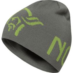 Norrona - /29 Logo Beanie Castor Grey - Mützen - Größe: L
