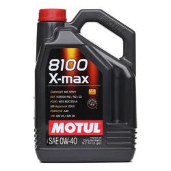 MOTUL Motoröl 8100 X-MAX 0W40 109693