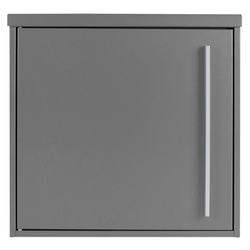 MOCAVI Briefkasten MOCAVI Box 101 Design-Briefkasten grau-aluminium (RAL 9007)