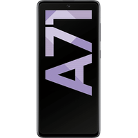 Samsung Galaxy A71 6 GB RAM 128 GB prism crush black