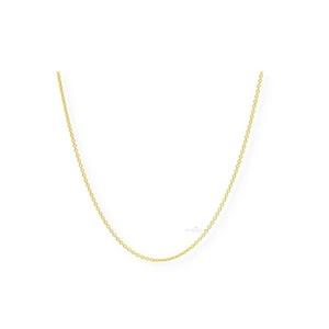 JuwelmaLux Goldkette Halskette Gold Ankerkette (1-tlg), Damen und Herren Halskette Gold 585/000, inkl. Schmuckschachtel goldfarben 40 cm