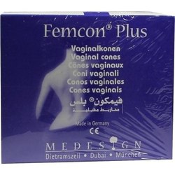 FEMCON Plus Vaginalkonen-Set m.5 Vaginalkonen 1 P