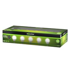 EZ SOLAR LED Gartenleuchte LED Solar Wegeleuchte Cracked Ball, Solar Gartenle