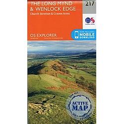 Long Mynd and Wenlock Edge 1 : 25 000 - Buch