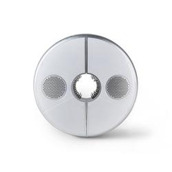 LED-Schirmleuchte mit Bluetooth®-Lautsprecher - Tchibo - Silber