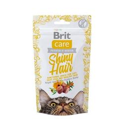 50g  Brit Care Cat Snack Shiny Hair Katzensnacks