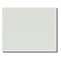 Endlospapier 12371 A3 quer grün liniert 60 g grün, Sigel