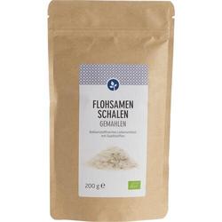 FLOHSAMENSCHALEN gemahlen Bio Pulver 200 g