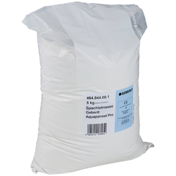 Geberit Gis Spachtelmasse 464044001 für Nässebereich, für Aquapaneel Pro, VE 10 kg