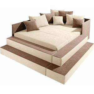 Maintal Polsterbett, Spielwiese oder Schlafplatz beige