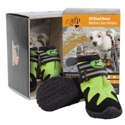 Outdoor Dog - All Road Boots - Hundeschuhe 4er Set - Grün - XS