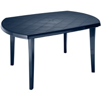 BEST Freizeitmöbel Elise Gartentisch 137 x 90 cm blau oval