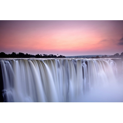 Fototapete Victoria Falls, glatt 3 m x 2,23 m