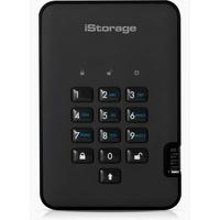 iStorage diskAshur 2 256GB USB 3.1 schwarz (IS-DA2-256-SSD-256-B)