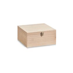 HTI-Living Aufbewahrungsbox Aufbewahrungsbox, Holz mit Metallverschluss (1 Stück), Aufbewahrungsbox 23 cm x 11 cm