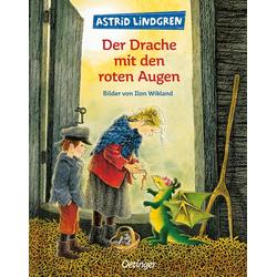 Der Drache mit den roten Augen als Buch von Astrid Lindgren/ Ilon Wikland