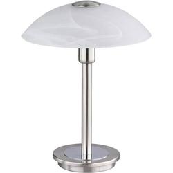 Paul Neuhaus Tila 4235-55 Tischlampe Halogen G9 33W Stahl