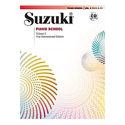 Suzuki Piano School  New International Edition  w. Audio-CD. Shinichi Suzuki  - Buch