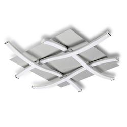 Mantra Deckenleuchte Nur quadratische LED-Deckenleuchte