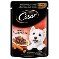 Cesar Feines mit Rind & Karotten in Sauce 24 x 100 g