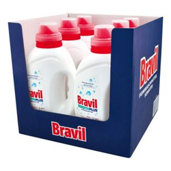 Bravil Feinwaschmittel Sensitiv Plus 1,5 Liter, 6er Pack