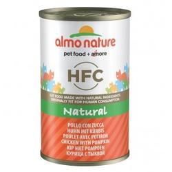 Almo Nature HFC Kip en Pompoen  24 x 150 gram