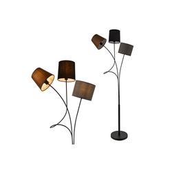 lux.pro Stehlampe, Twist Moderne Stehlampe Höhe 146, mit verstellbaren Lampenschirmen