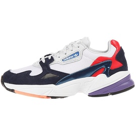 adidas Falcon white-navy-red/ white, 40.5