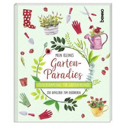 Das Stickeralbum Mein kleines Gartenparadies: Buch von